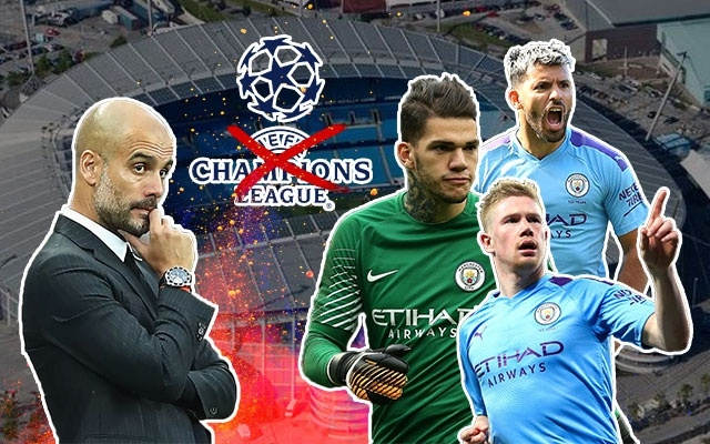 Man City Real Madrid Champions League anh 1