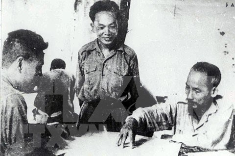 President Ho Chi Minh during French resistance war hinh anh 6